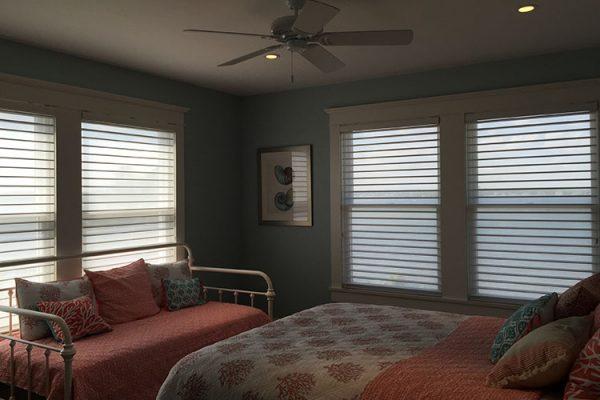 Silhouette® Window Shadings Bedroom