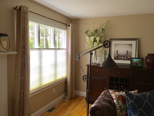 cellular shades top down