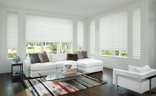 Solera Soft Shades Living Room