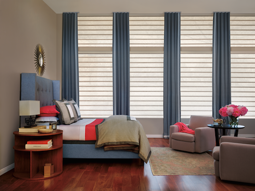 Hunter Douglas Vignette® Modern Roman Shades with Duolite® Fabric