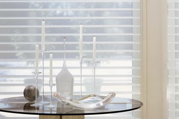 Hunter Douglas light filtering window coverings