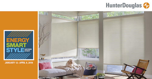 Hunter Douglas window shade sale