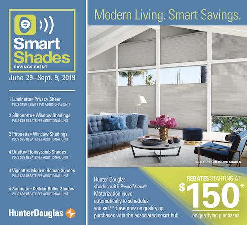 Hunter Douglas blinds sale