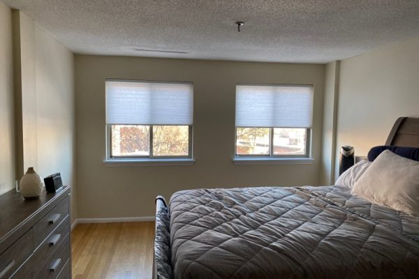 Hunter Douglas bedroom shades