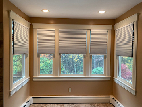 gray cellular shades